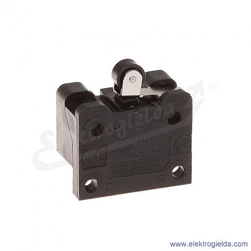 Łącznik krańcowy 83-135 58F miniaturowy z dźwignią krótką i rolką 1Z+1R