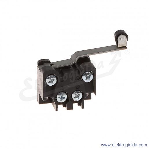 Łącznik krańcowy 83-135 58E miniaturowy z długą dźwignią i rolką 1Z+1R