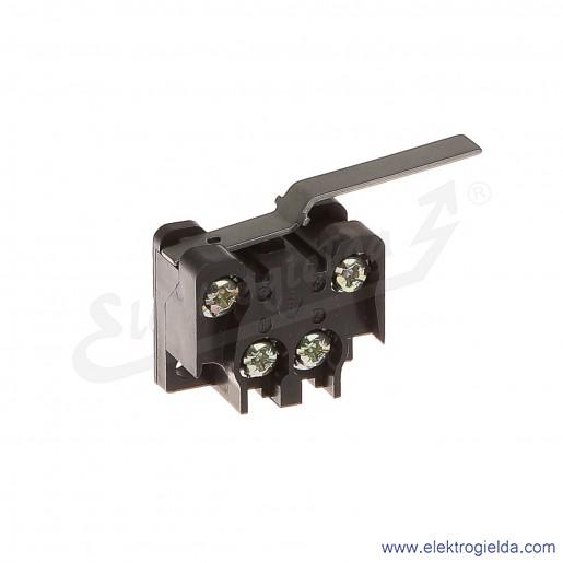 Łącznik krańcowy 83-135 58A miniaturowy z długą dźwignią 1Z+1R