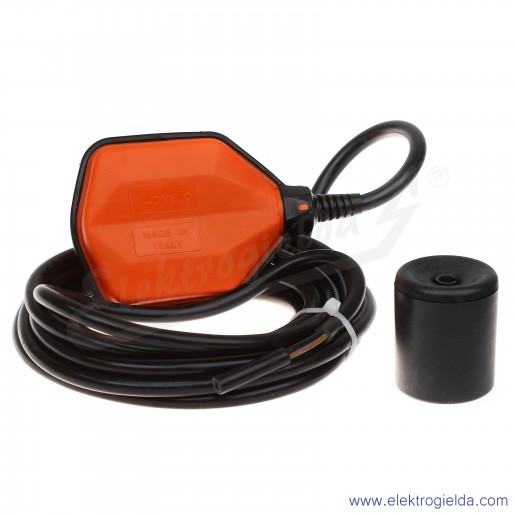 Czujnik pływakowy LVFSP1W05 przewód PVC 5m do czystej wody