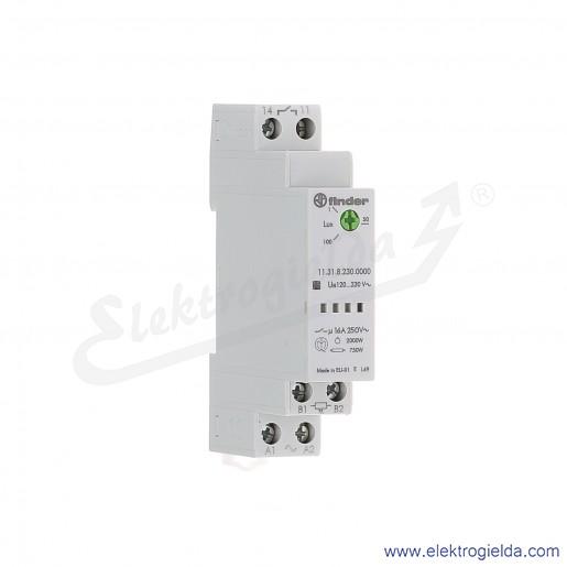 Przekaźnik zmierzchowy 11.31.8.230.0000 1Z 230V AC modułowy 1-100lx