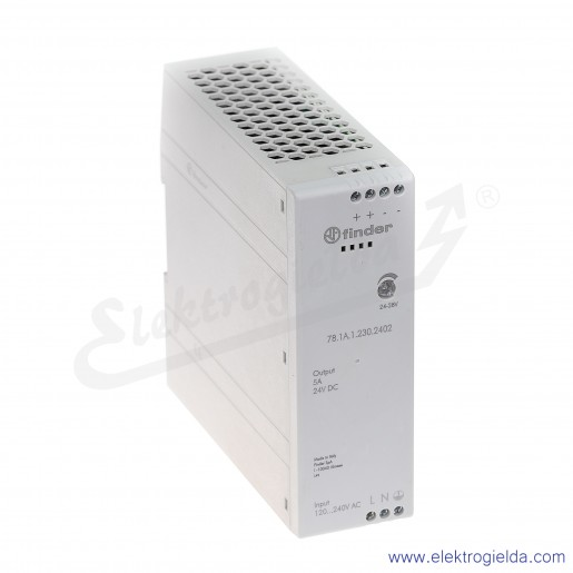 Zasilacz impulsowy 78.1A.1.230.2402 AC/DC na szynę DIN 120W 24V DC 4,5A
