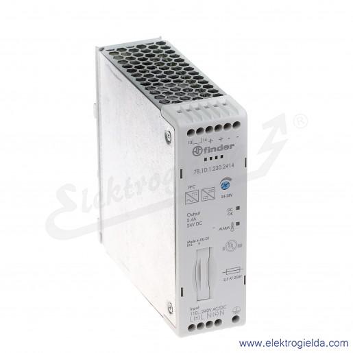 Zasilacz impulsowy 78.1D.1.230.2414 AC/DC na szynę DIN 130W 24V DC 5,4A