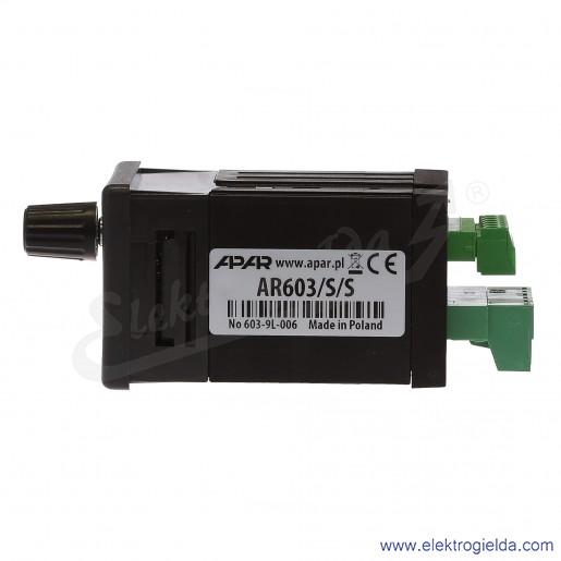 Cyfrowy regulator temperatury z układem czasowym AR603