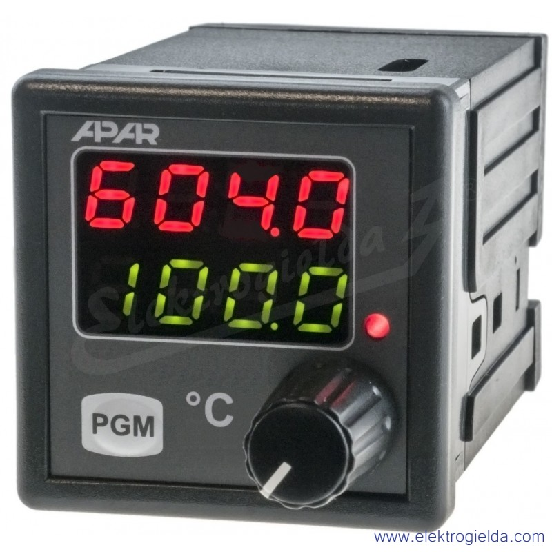 Cyfrowy regulator temperatury AR604
