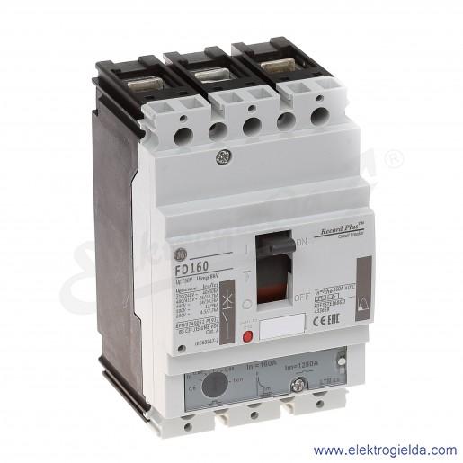 Wyłącznik mocy FDE36TE160GD 160A 3P 25kA