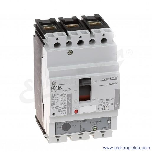 Wyłącznik mocy FDE36TE100GD 100A 3P 25kA