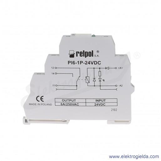 PI6-1P-24VDC (SZARE) (CE)