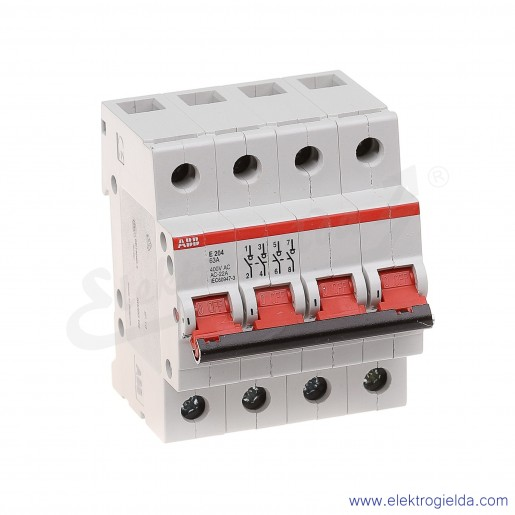 Rozłącznik główny E204/63A rd 4P 63A