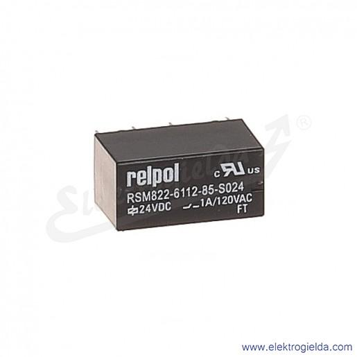 Przekaźnik subminiaturowy RSM822-6112-85-1012 2P 12VDC do obwodów drukowanych