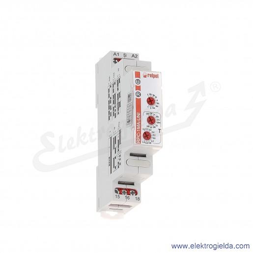 Przekaźnik czasowy wielofunkcyjny RPC-1MA-UNI 1P 12...240VAC/DC, 10 funkcji