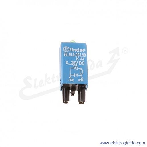 Moduł 99.80.9.024.99 6-24V DC Dioda LED + dioda gaszeniowa