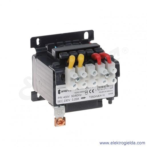 Transformator bezpieczeństwa jednofazowy otwarty TMM50 400/230V