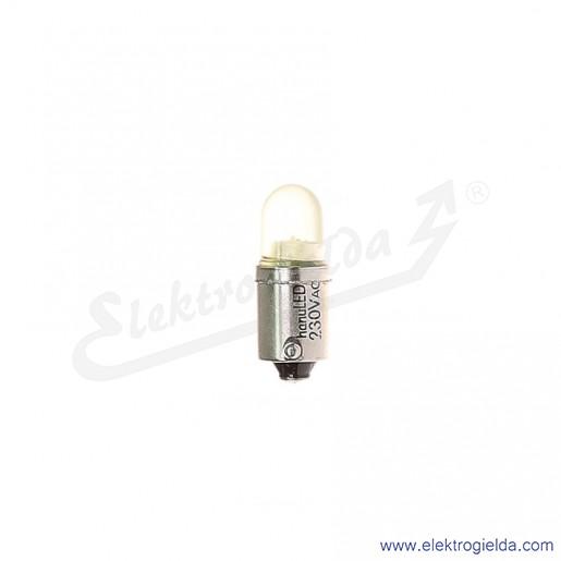 Żarówka LY-BA9S-230AC żółty LED 230VAC