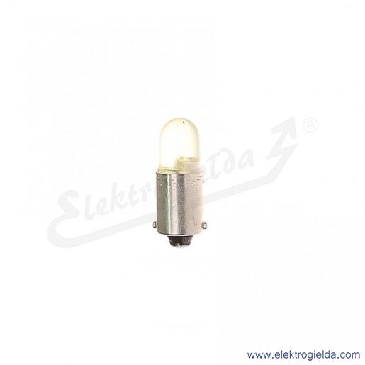 Żarówka LY-BA9S-230AC/DC żółty LED 230VAC/DC