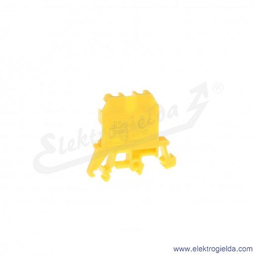 ZUG G 4  Złączka żółta jednotorowa gwintowa