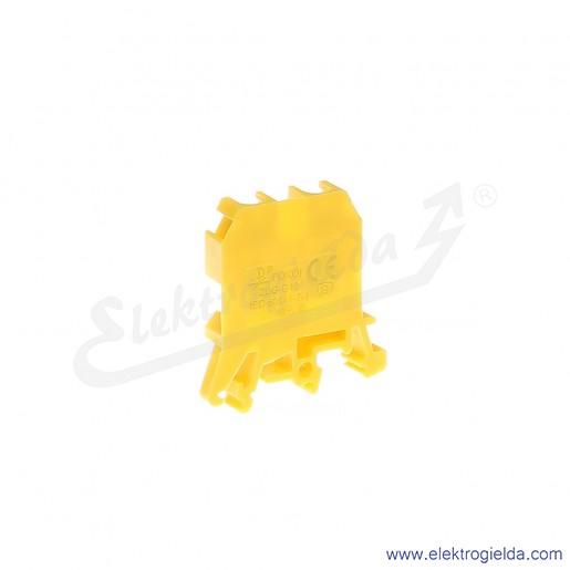 ZUG G 10  Złączka żółta jednotorowa gwintowa
