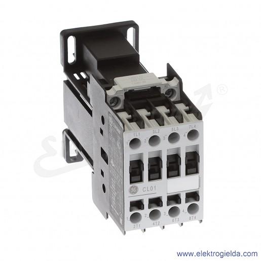 Stycznik CL01D400TD 24V DC, 5,5KW/400V AC-3, 25A AC-1, 4-polowy