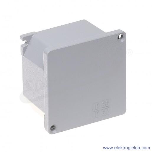 Obudowa seria Alubox 653.00 100x100x59 IP66 aluminiowa